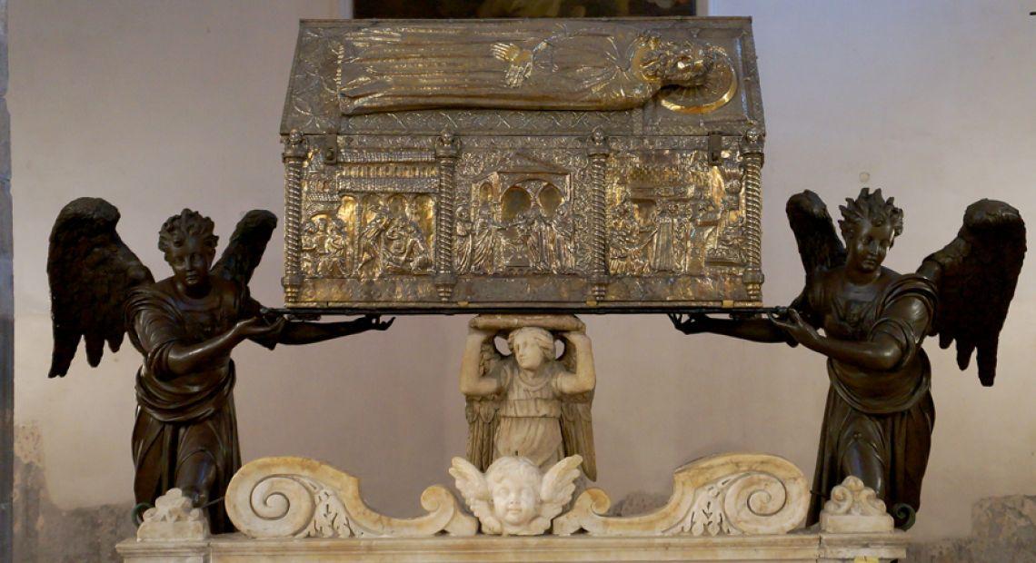 chest of St. Simeon, Zadar, cultural sight, history of art, Franjo from Milan, www.zadarvillas.com